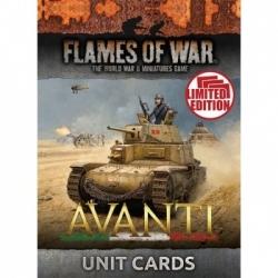 Flames of War - Avanti Unit Cards - EN