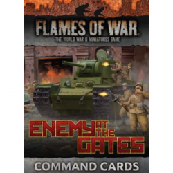 Flames of War - Enemy at the Gates Command Cards - EN