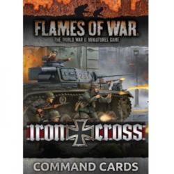 Flames of War - Iron Cross Command Cards - EN