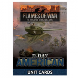 Flames of War - D-Day American Unit Cards - EN