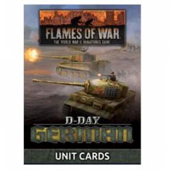 Flames of War - D-Day: Germans Unit Cards - EN