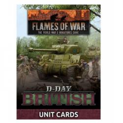 Flames of War - D-Day: British Unit Cards - EN