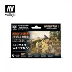 Vallejo WWII German Waffen-SS Paint Set