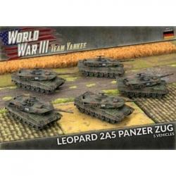 WWIII: Leopard 2A5 (x5 Plastic) - EN