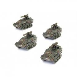 WWIII: Wiesel TOW Panzerabwehr Zug (x4) - EN