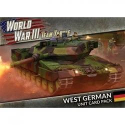 WWIII: West German Unit Cards - EN
