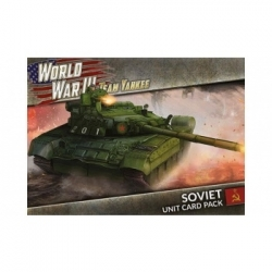 World War III Team Yankee - WWIII: Soviet Unit Card Pack (54 cards)