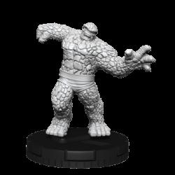 Marvel HeroClix Deep Cuts Unpainted Miniatures: The Thing (4 Units) - EN