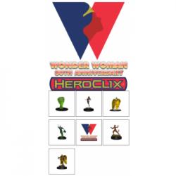 DC Comics HeroClix: Wonder Woman 80th Anniversary Booster Brick - EN