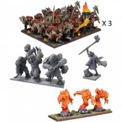 Kings of War - Salamander Mega Army - EN