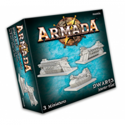 Armada - Dwarf Starter Fleet - EN