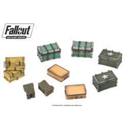 Fallout: Wasteland Warfare - Terrain Expansion: Cases and Crates - EN