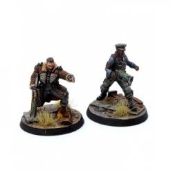 Fallout: Wasteland Warfare - Brotherhood of Steel: Elder Maxon & Capt Kells - EN