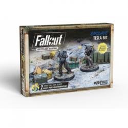 Fallout: Wasteland Warfare - Enclave: Tesla Set - EN