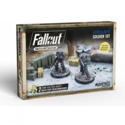 Fallout: Wasteland Warfare - Enclave: Soldier Set - EN