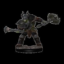 Pathfinder Battles: Premium Painted Figure - Half-Orc Barbarian Male (6 Units) - EN