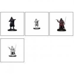 Pathfinder Battles Deep Cuts Unpainted Miniatures - Human Rogue Male (6 Units)