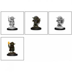 Pathfinder Battles Deep Cuts Unpainted Miniatures - Goblin Rogue Female (6 Units)