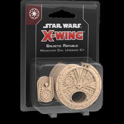 FFG - Star Wars X-Wing: Galactic Republic Maneuver Dial Upgrade Kit - EN