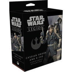 FFG - Star Wars Legion: Cassian Andor and K-2S0 Commander Expansion - EN