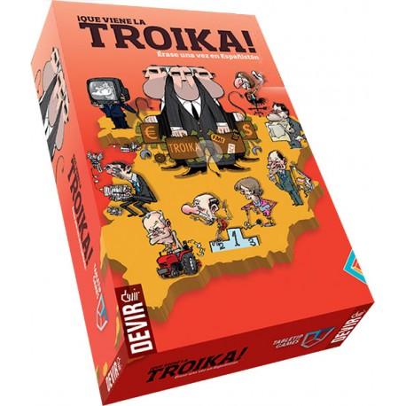 Caja del juego Erase una vez en Españistán... ¡Que viene la Troika!