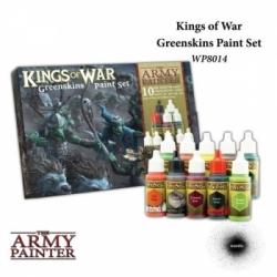 The Army Painter - Warpaints Kings of War Greenskins paint set