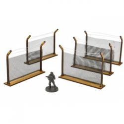 The Walking Dead: Chain-Link Fences MDF Scenery Set