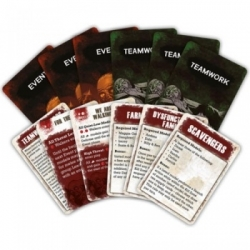 The Walking Dead: All Out War - Teamwork and Event Cards - EN