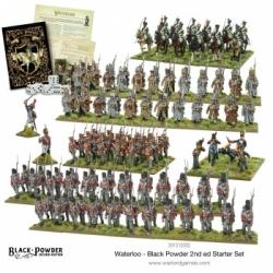 Black Powder Waterloo 2nd edition Starter Set - EN