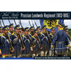 Black Powder Prussian Landwehr Regiment 1813-1815 - EN