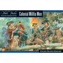 Black Powder Colonial Militia Men - EN