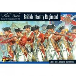 Black Powder British Infantry Regiment - EN