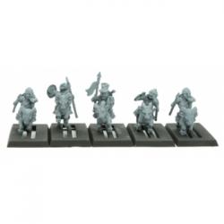 Warlords of Erehwon - Halfling Goat Riders with Spears - EN