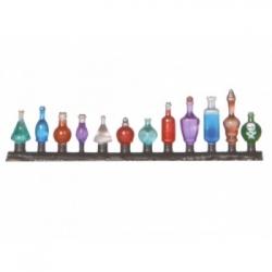 Ziterdes - Glass bottle set, 24 pieces