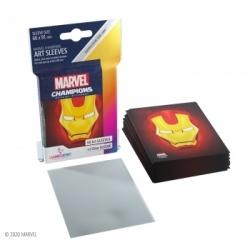 Gamegenic - Marvel Champions Art Sleeves - Iron Man (50+1 Sleeves)