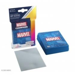 Gamegenic - Marvel Champions Art Sleeves - Marvel Blue (50+1 Sleeves)