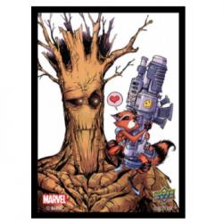 Marvel Card Sleeves - Rocket/ Groot (65 Sleeves)