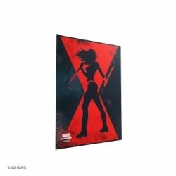 Gamegenic - Marvel Champions Art Sleeves - Black Widow (50 Sleeves)
