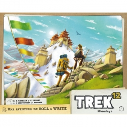 On Trek 12 you can hike through the Himalayas to discover new routes to the top