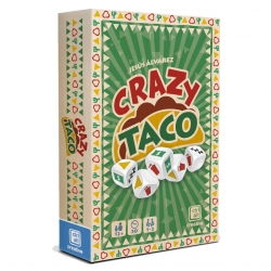 Manage your fast food franchise with the Crazy Taco card game