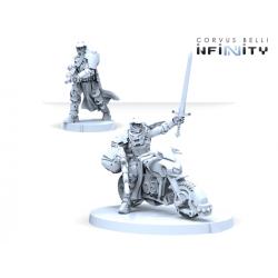 Knight of Montesa (Red Fury) Panoceanía Infinity de Corvus Belli referencia 281223-0895