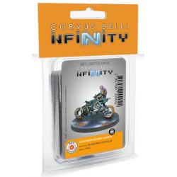 Motorized Bounty Hunters (Boarding Shotgun) Infinity de Corvus Belli referencia 280759-0904