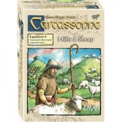 Carcassonne Exp 9: Hills & Sheep