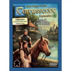 Carcassonne - Exp: 1 - Inns and Cathedrals (New Version)