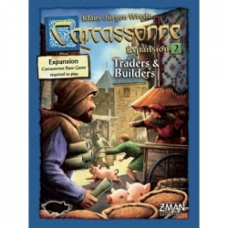 Carcassonne - Exp: 2 - Traders & Builders (New Version)