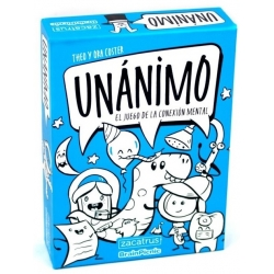 Unánimo card game from Zacatrus
