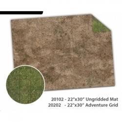 MFF - 44x30 Broken Grassland / Desert Scrubland Game Mat