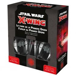 Expansión juego Star Wars X-Wing La furia de la Primera Orden de Fantasy Flight Games