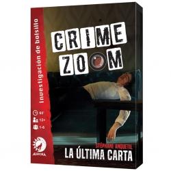 Juego de investigación Crime Zoom de Lucky Duck Games