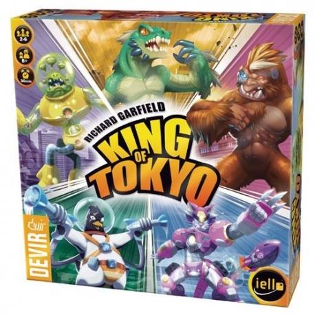 Juego de mesa King Of Tokyo 2016 de Devir e iello
